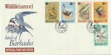 1987 Barbados FDC cover Wildlife Capex`87 - Birds