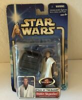 Star Wars Attack of the Clones 2002 Anakin Skywalker Figure Collection 1 Hasbro