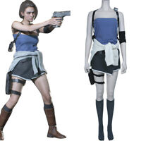 Custom made Size The Resident Evil 3 Remake Cosplay Costume Resident Evil Jill Valentine Outfit Princess Dress Cosplay Costume