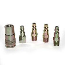 5pc Quick Coupler Air Hose Connector Set Compressor Tools Zinc Milton CH440KIT