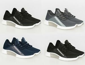 Crosshatch Trainers Lightweight Sneaker Running Shoes Sports GYM Outdoor GIFTxms