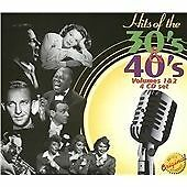 Hits Of The 30's & 40's: Volumes 1 & 2 CD 4 discs (2004) ***NEW*** Amazing Value