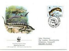 BULGARIA  2004 WWF  FDC  Endangered Species.  Sturgeon   SG4518