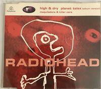 RADIOHEAD : HIGH & DRY : PLANET TELEX - [ CD MAXI ]