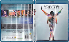 Michael Jackson Blu-Ray Disc THIS IS IT Film French Edition FRANCE 2010
