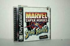 MARVEL SUPER HEROES VS. STREET FIGHTER USATO SONY PSX ED USA NTSC/U MG1 45523