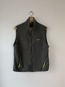 Vintage PATAGONIA Synchilla Mens Green Vest/Gillet Full Zip Size Small