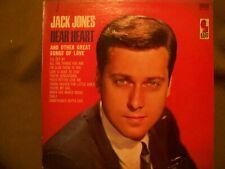 JACK JONES DEAR HEART 1964 RECORD KAPP KS-3415
