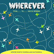 ADULT PUZZLE COLOURING ACTIVITY BOOK: WHEREVER - MINDFULESS - CALM