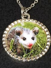 "Possum Baby Charm Tibetan Silver 18"" Necklace Mix A"