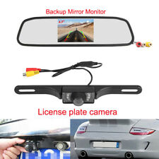 "Car 4.3"" TFT LCD Rear View Backup Mirror Monitor + Rearview Camara for Reversing"