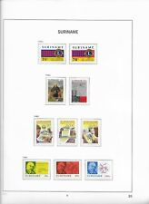 1982 MNH Republiek Suriname year collection according to DAVO