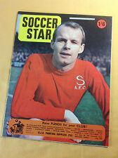 Vintage : SOCCER STAR : Weekly Football Magazine : 10 May 1968
