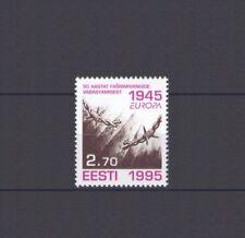 ESTONIA, EUROPA CEPT 1995, PEACE & FREEDOM, MNH