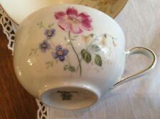 Hutschenreuther Bavaria Selb Juwel Kaffee Tee Tasse Blüten Blumen Top