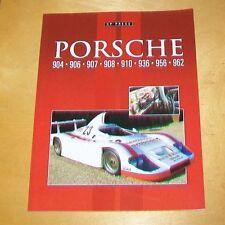 Porsche 904 906 907 908 910 936 956 962 libro sobre los coches Colin Pitt 2014