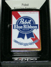 Hard to Find Classic Pabst Blue Ribbon Beer Zippo Lighter