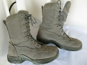 Danner ~ 26115 USAF Gray TFX Hot Weather Military Boots Size Men's 10 D ~ Combat