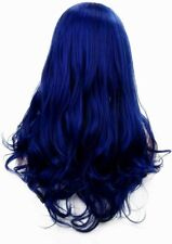 """Cosplay Wig Navy Approx 24 """" Straight with Fringe Party Costume Hair"""