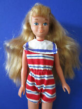 B118- RARE ALTE BLONDE VINTAGE SEA LOVIN SKIPPER BARBIES SCHWESTER MATTEL 1984
