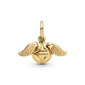Authentic Pandora Charm 368618C00 Shine Harry Potter Golden Snitch