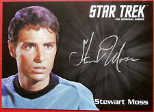 STAR TREK TOS 50th Stewart Moss as Joe Tormolen LIMITED EDITION Autograph Card