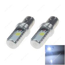 2xBA20D 24 Chips COB LED Motor Bike/Moped/ATV Headlight Bulb Fog Light DRL 20378
