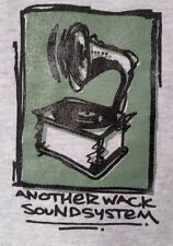 ANOTHER WACK SOUNDSYSTEM T-Shirt large underground hip hop rap turntablism 1990s