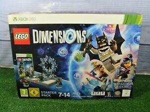 MICROSOFT XBOX 360 LEGO DIMENSIONS STARTER PACK / PORTAL etc **NEW AND SEALED