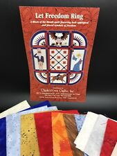 Let Freedom Ring Quakertown Quilt Pattern Kit Month 1: LADY LIBERTY (RF709)