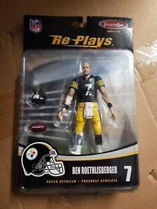 Ben Roethlisberger Re-Plays Extreme UNRELEASED GraceLyn Figure NFL Steelers MOC!