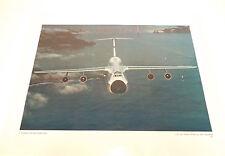 Vintage US Air Force PHOTO Print C-5 Aircraft Over the Golden Gate Ken Hackman