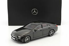 Mercedes Benz CLS Class New Shape 1:18 Scale Graphite Black B66960546 By Norev