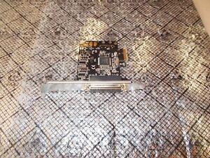 SYBA SD-PEX10005 PCI-E X1 Parallel Port Adapter Card