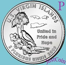 2009-P US VIRGIN ISLANDS QUARTER U.S. TERRITORIES UNCIRCULATED FROM U.S. MINT