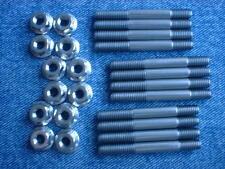 Honda CBX1000A, CBX1000B und CBX1000C'80 -'82 Edelstahl Auspuff Nieten Set