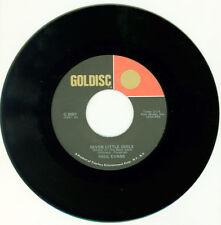 "PAUL EVANS Seven Little Girls/Happy Go Lucky Me  7"" COUNTRY POP VINYL GOLDISC"