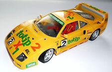 "Ferrari F40 (1987) Racing Car Rennwagen ""TOTIP"" Jolly Club #2 Bburago 1:18 24 cm"