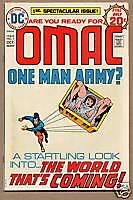 OMAC, One Man Army #1, DC Comics 1974, Kirby, FN/VF