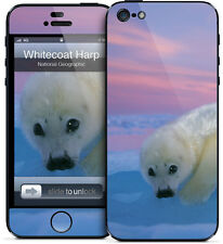 Gelaskin Gelaskins iPhone 5 National Geographic Whitecoat Harp Seal
