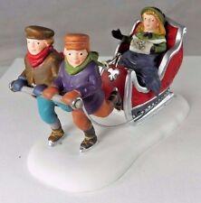 Dept 56 Heritage Village Winter Sleighride Porcelain Christmas Village 58254