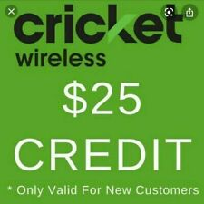 *FREE* $25 Cricket Wireless Referral Credit with Step by Step Instructions