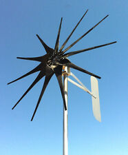 Low Wind Turbine 1125 W/Watt/P SCORPION 24 DC 2/wire PMA 11 black blades