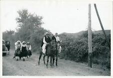 ALBANIE 1938 - Sur la Route - NV 4537
