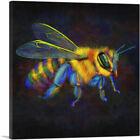 ARTCANVAS Honey Bumble Bee Insect Canvas Art Print