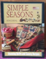 Simple Seasons quilt book by Kim Diehl