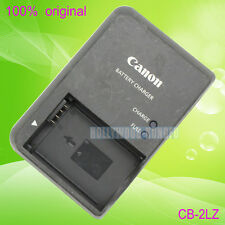 Original Genuine Canon CB-2LZ CB-2LZE NB-7L Battery Charger for G10 G11 G12 SX30