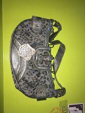 julien mcdonald silver tiger mini shoulder clutch bag