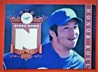 HIDEO NOMO 2003 UD HONOR ROLL JERSEY CARD ROOKIE # DL-HNI (MINT). rookie card picture