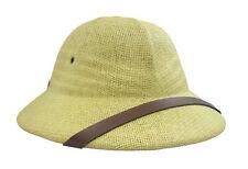 British Pith Helmet Safari African Vietnam French Military Army Costume Hat